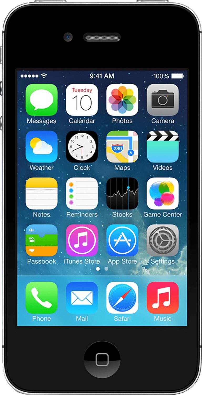 Apple iPhone 4S 8GB Schwarz