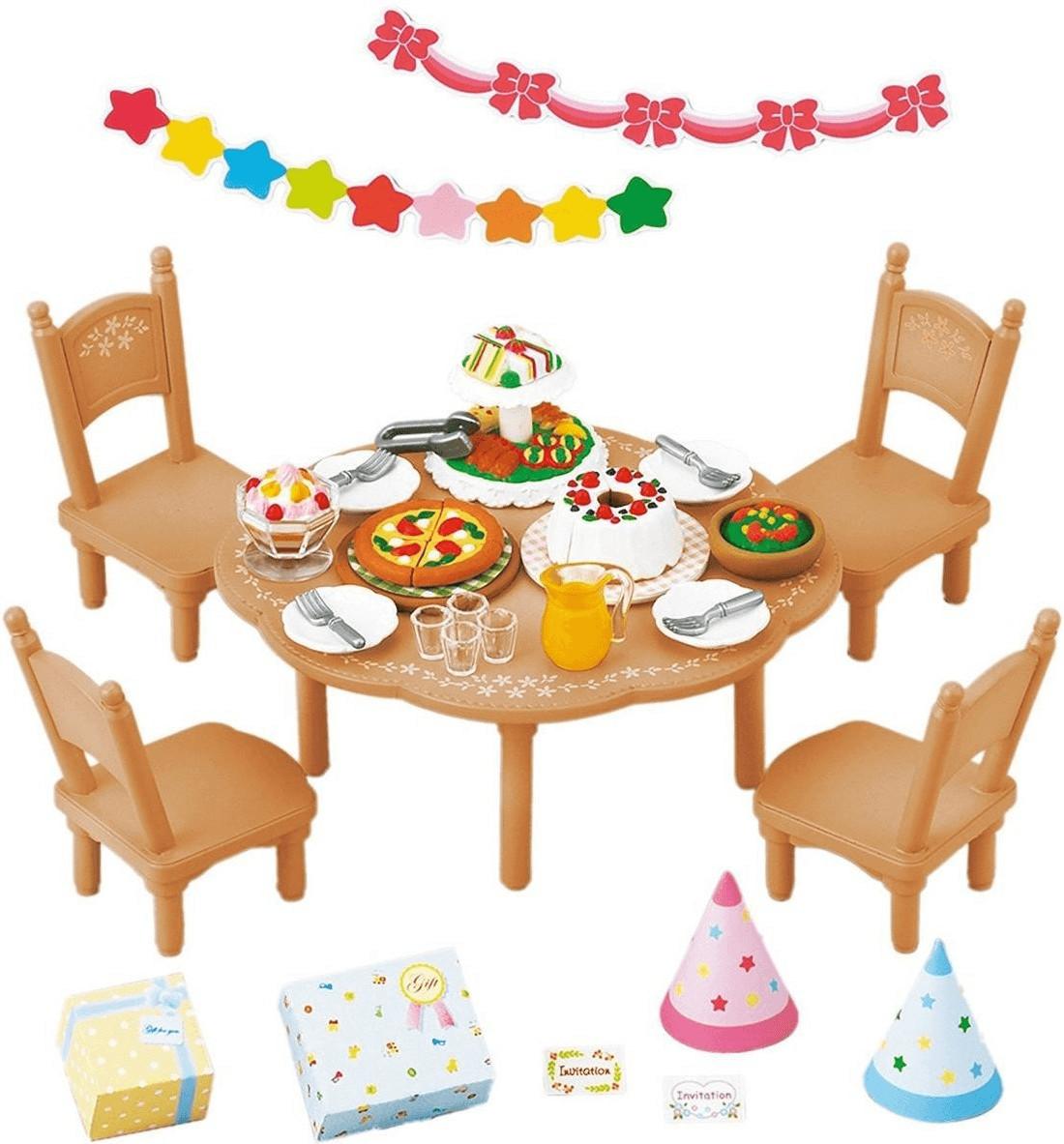 Sylvanian Families Set fiesta sorpresa