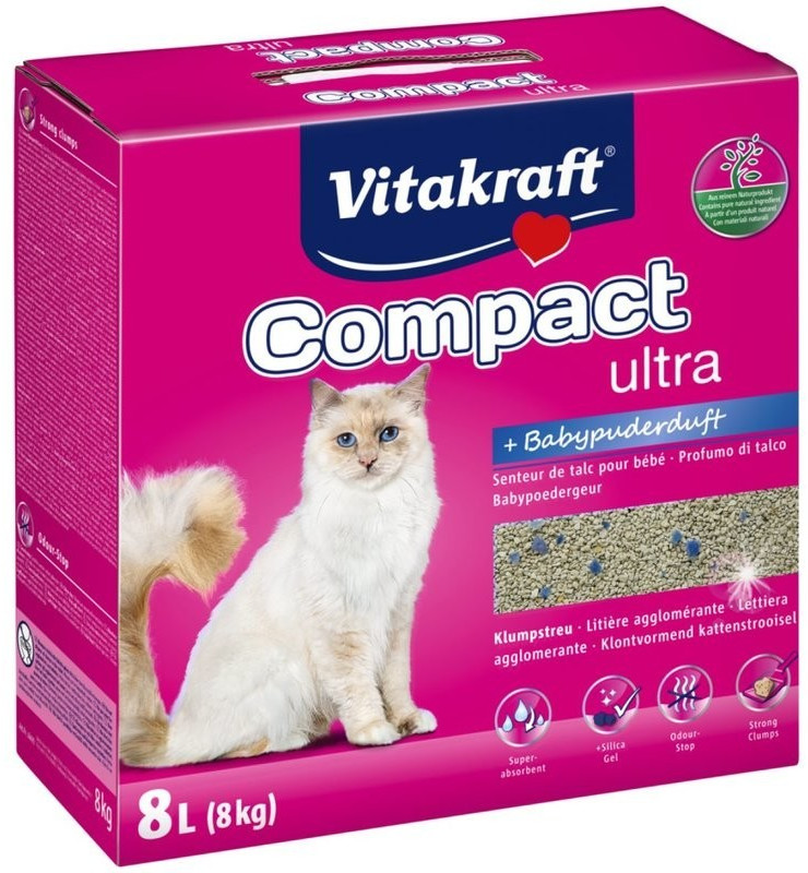 Image of Vitakraft Compact ultra plus 8kg