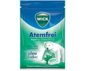 wick atemfrei eukalyptus bonbons ohne zucker 72 g ab 1 65 preisvergleich bei