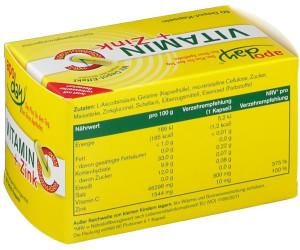 Wepa Vitamin C + Zink Depot Kapseln (60 Stk.) ab 2,98