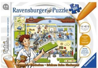 Ravensburger tiptoi - Puzzlen, Entdecken, Erleben - Beim Kinderarzt (100 Teile)