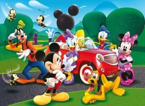 Clementoni Mickey Mouse - Ride with the new car...