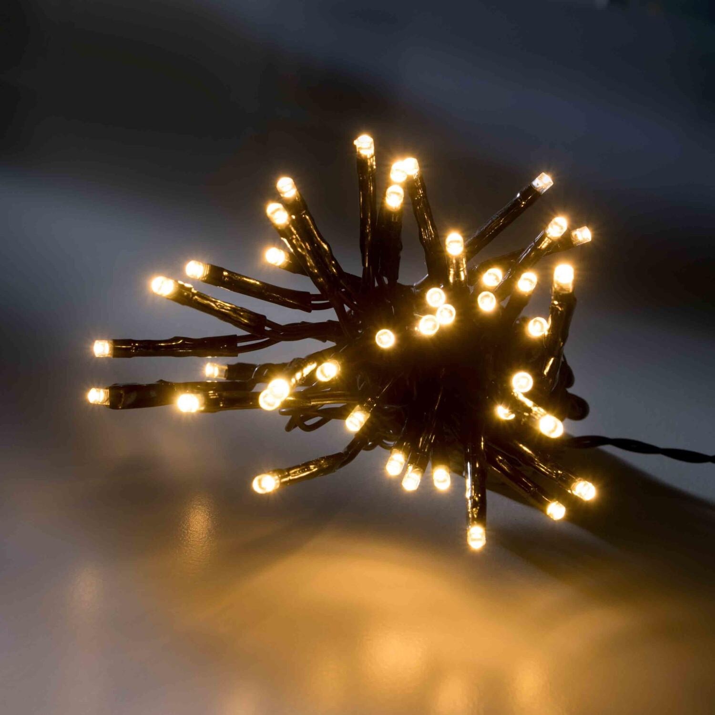 Ambientehome LED-Lichterkette 80er 9m warmweiß