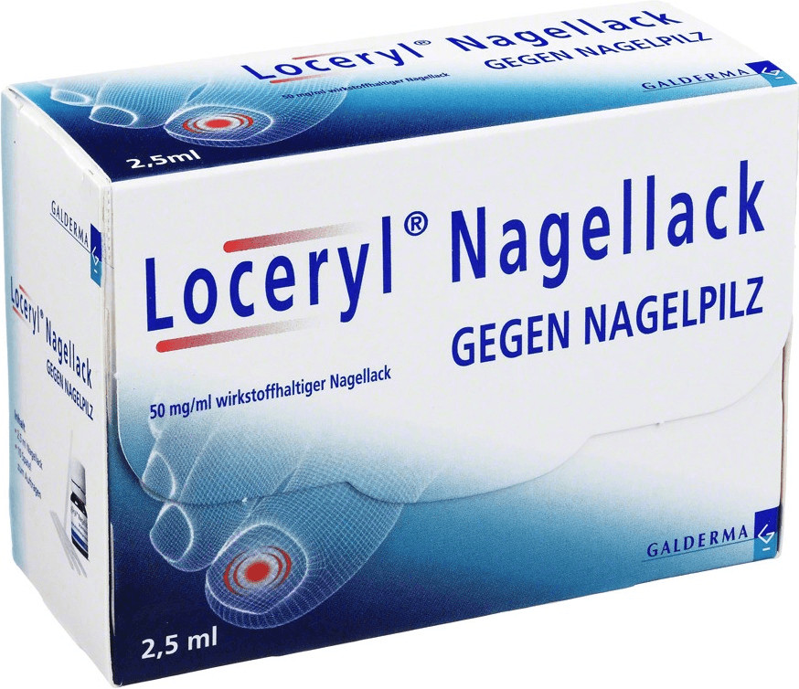 Loceryl Nagellack (2,5ml)