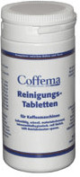 Coffema Reinigungstabletten, 100 g