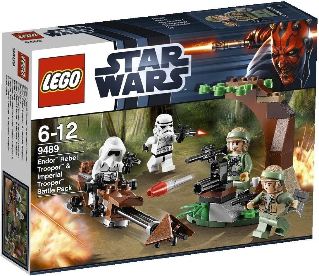 LEGO Endor Rebel Trooper & Imperial Trooper (9489)