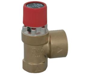 SYR Membran-Sicherheitsventil für Heizung 1/2-Zoll
