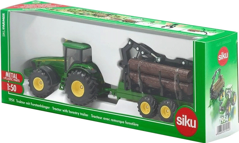 Siku Traktor mit Forstanhänger (1954)