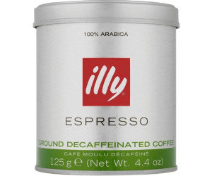 illy Ground Decaffeinated Coffee 125 g