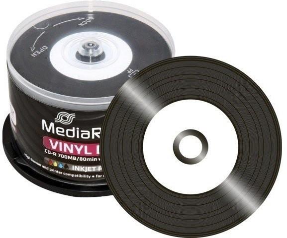 MediaRange CD-R 700MB 80min 52x Inkjet printabl...