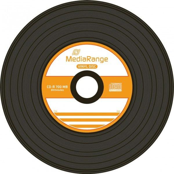 MediaRange CD-R 700MB 80min 52x Vinyl 50er Cake...