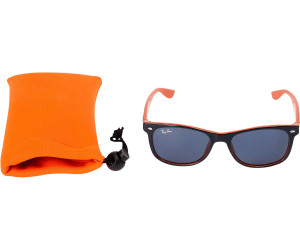 ray ban junior blau orange