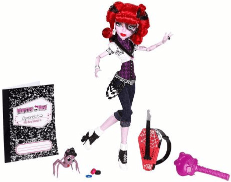 Monster High Monster High Operetta (X4633)