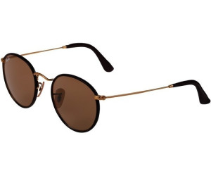0bafb5d4ba0 ... cheapest ray ban round craft rb3475q 112 53 matte arista insert brown  leather crystal brown dba99