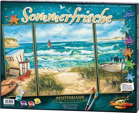 Schipper Malen nach Zahlen Sommerfrische
