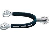 Sporen ohne Rad rund ULTRA fit extra Grip Sprenger Edelstahl silber//schwarz 15mm