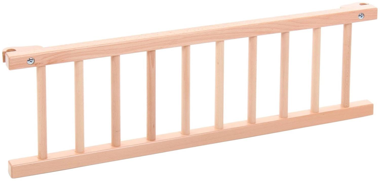 Babybay 160201 - Barrera de seguridad para cuna con cierre, lacado natural [importado de Alemania]