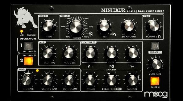 Image of Moog Minitaur