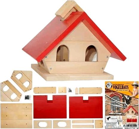 Corvus Vogelhaus Bausatz