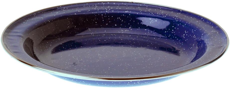 GSI Emaille Teller blau