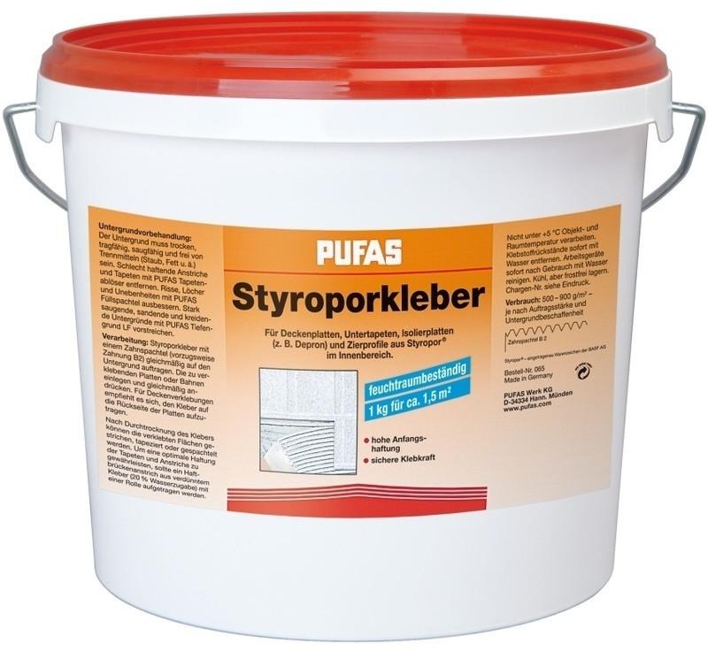 PUFAS Styropor- und Renoviervlies-Kleber 8kg