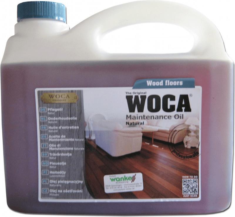 WOCA Pflegeöl 2,5 l natur