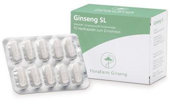 FloraFarm Ginseng SL Kapseln (50 Stk.)