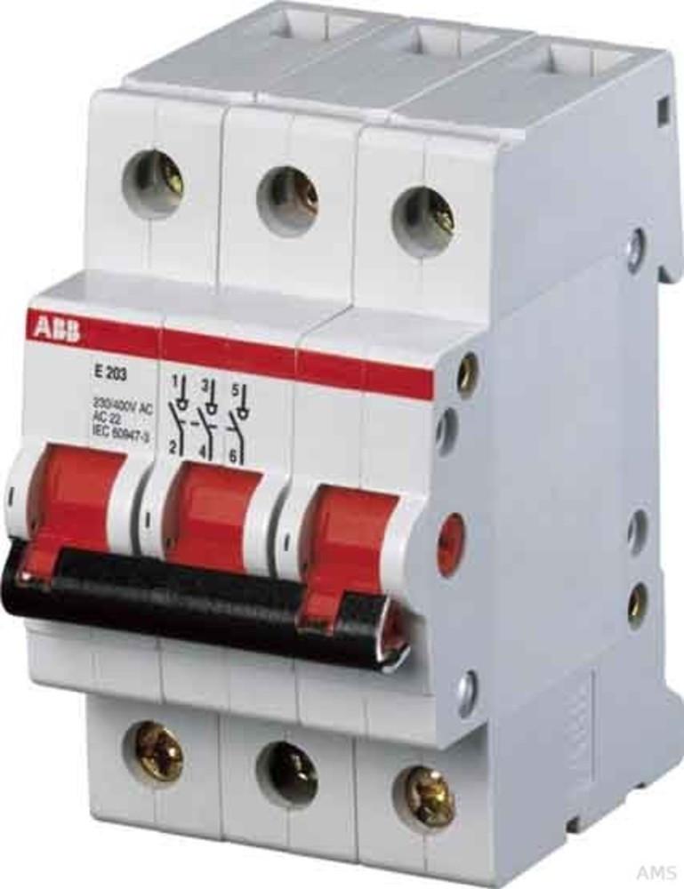 ABB Einbauschalter E 203/63G