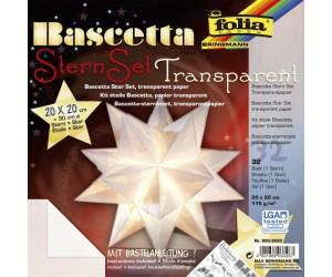 Folia Bascetta Sternset Transparent 20x20cm Ab 285