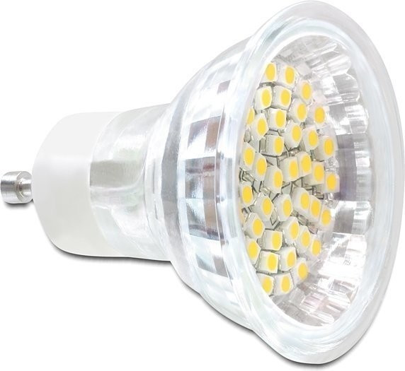DeLock Lighting GU10 LED Leuchtmittel 3,0W warm...