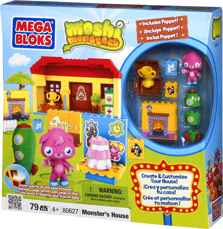 MEGA BLOKS Moshi Monsters - Monster Haus