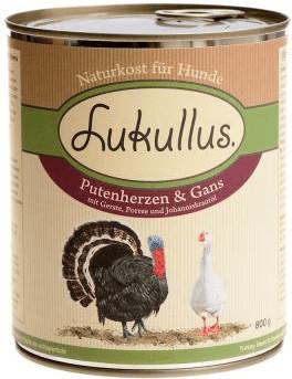 Lukullus Putenherzen & Gans (800 g)