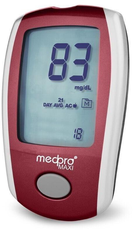 Medpro Maxi Blutzucker Messsystem