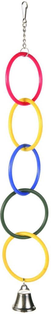 Trixie Anillos de juego con cadena (25 cm)