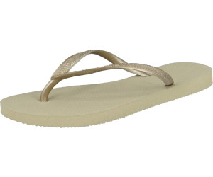 c61448101034ce Buy Havaianas Slim Sand Grey-Light Golden from £7.23 – Compare ...