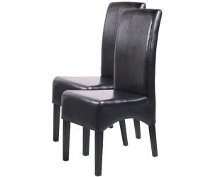esszimmerstühle mit dunklen beinen