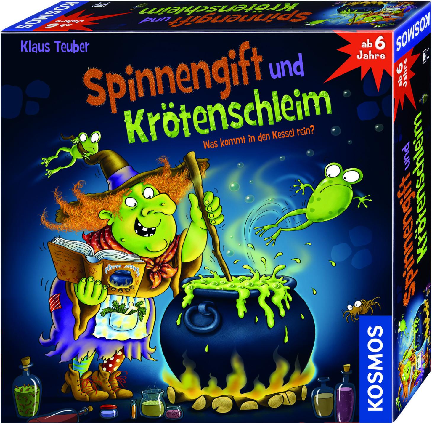 Kosmos Spinnengift und Krötenschleim (698652)
