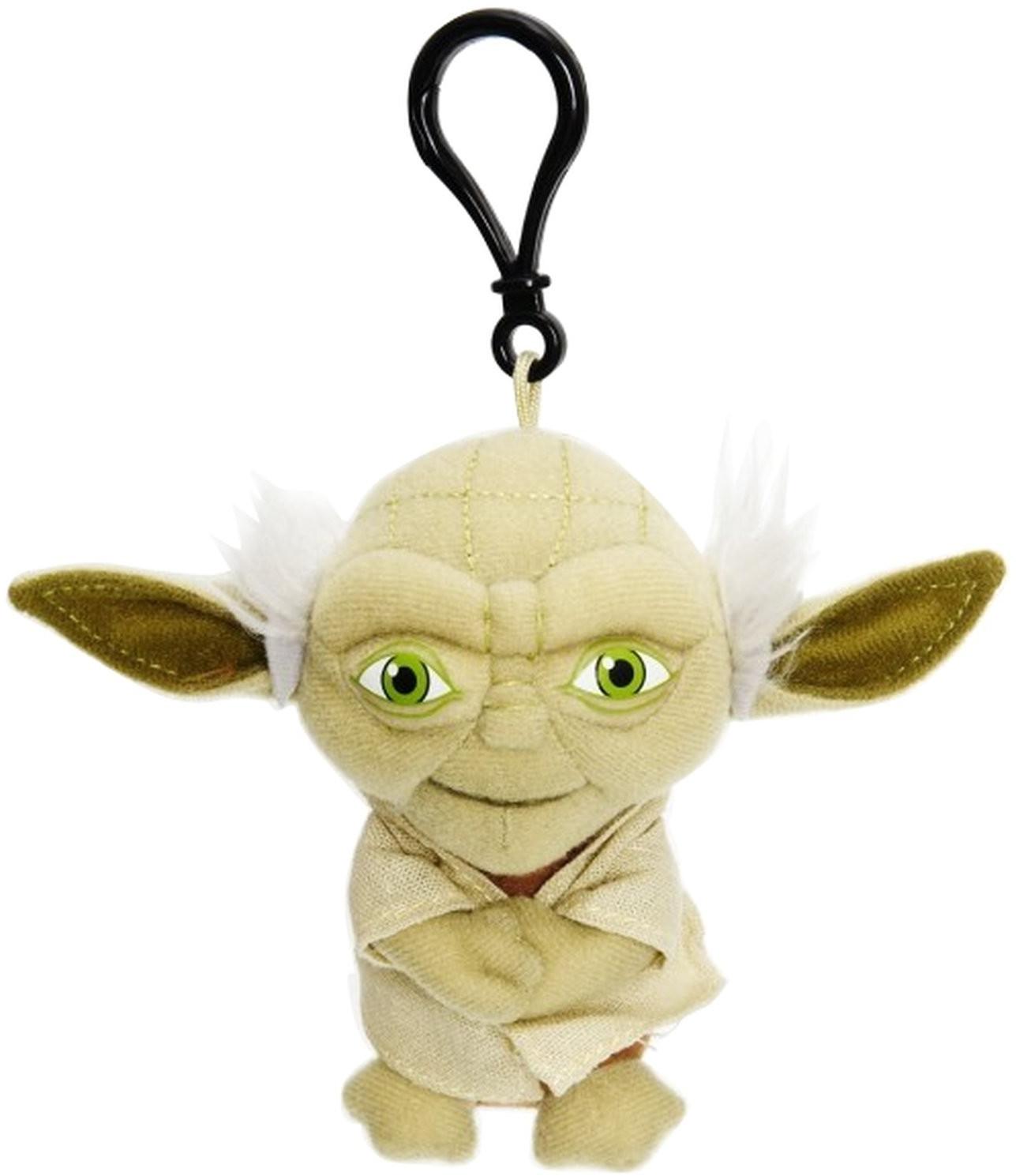 Joy Toy Star Wars - Yoda sprechender Schlüsselanhänger 10 cm