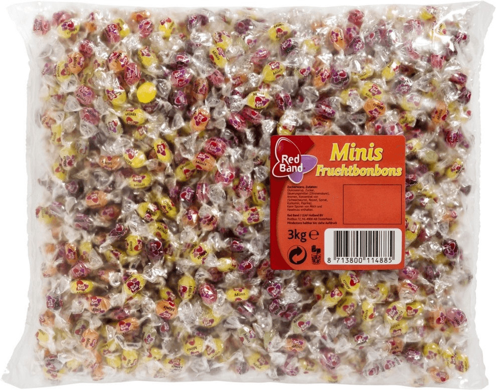 Red Band Minis Fruchtbonbons (3 kg)