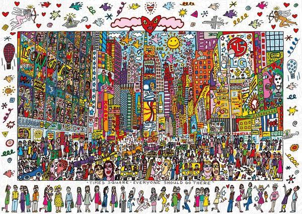Ravensburger James Rizzi - Pop-Art-Puzzle (1.000 Teile)