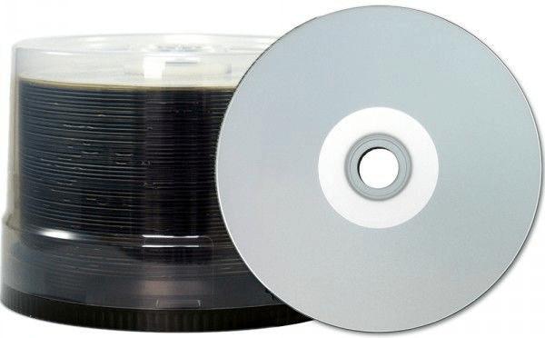 Taiyo Yuden CD-R 700MB 80min 48x silber ganzflä...
