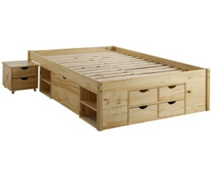 Stauraumbett 140x200 massivholz  Link Claas 140x200cm ab 403,92 € | Preisvergleich bei idealo.de