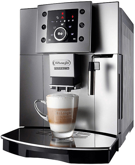 Kaffeevollautomat, Delonghi, »Perfecta ESAM 5400 « in silber