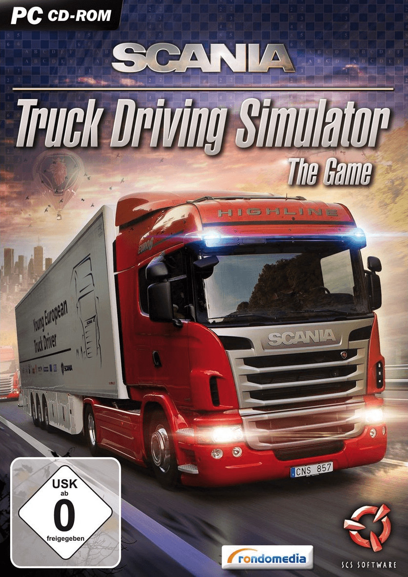 Scania Truck Driving Simulator: The Game (PC)
