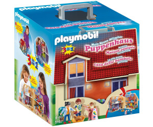 playmobil maison transportable 5167 au meilleur prix sur. Black Bedroom Furniture Sets. Home Design Ideas