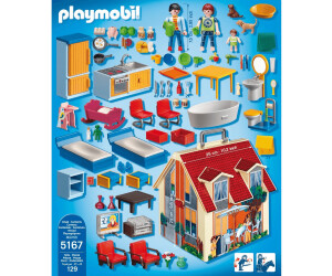 Playmobil Maison transportable (5167) au meilleur prix | Juillet 2020 | idealo.fr