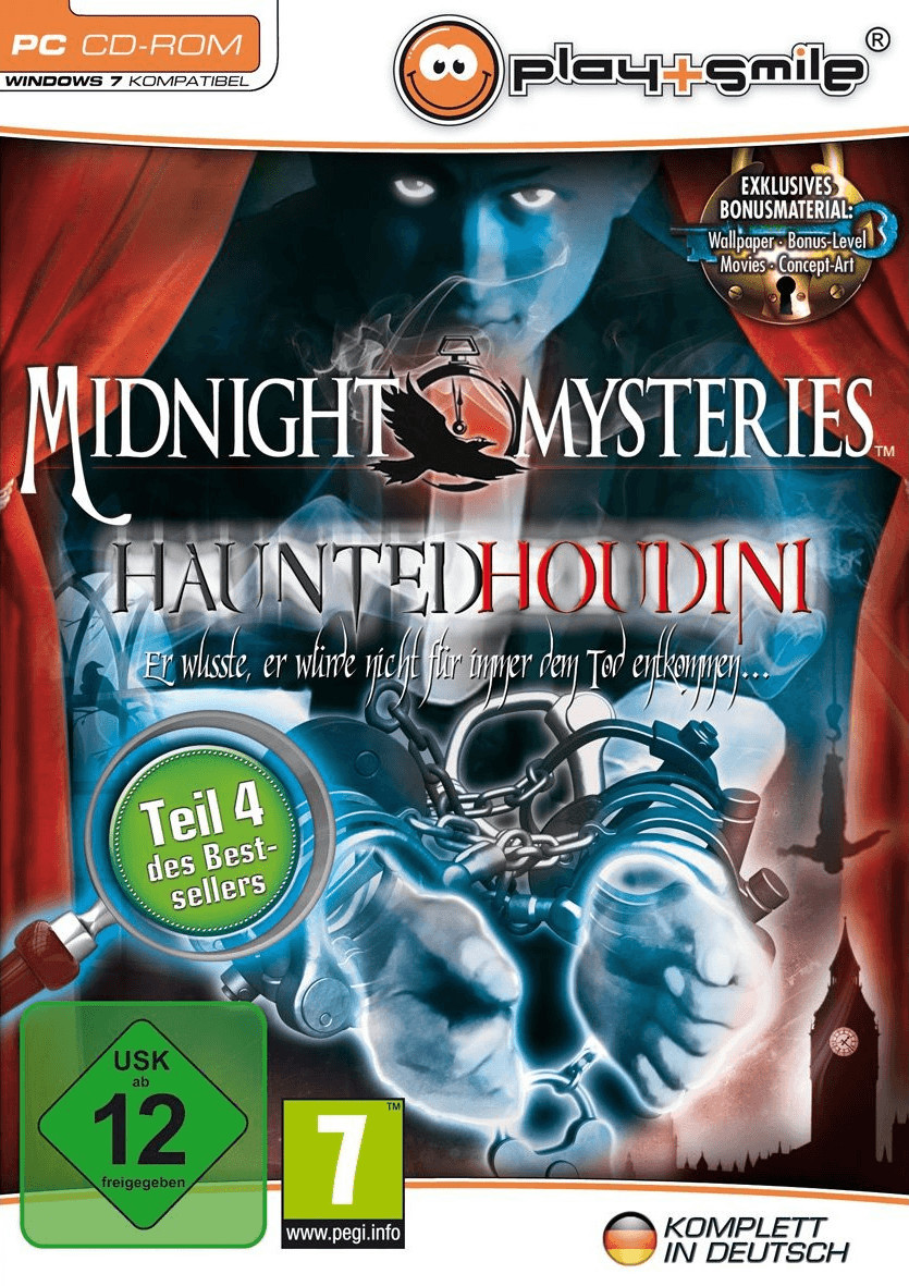 Midnight Mysteries: Haunted Houdini (PC)
