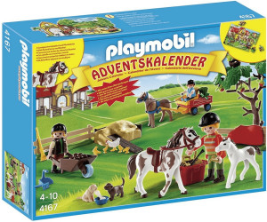 Weihnachtskalender Schleich Pferde.Playmobil Adventskalender Reiterhof 4167 Ab 11 99
