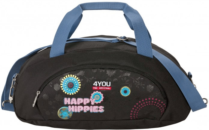 4YOU Sporttasche XS Happy Hippies